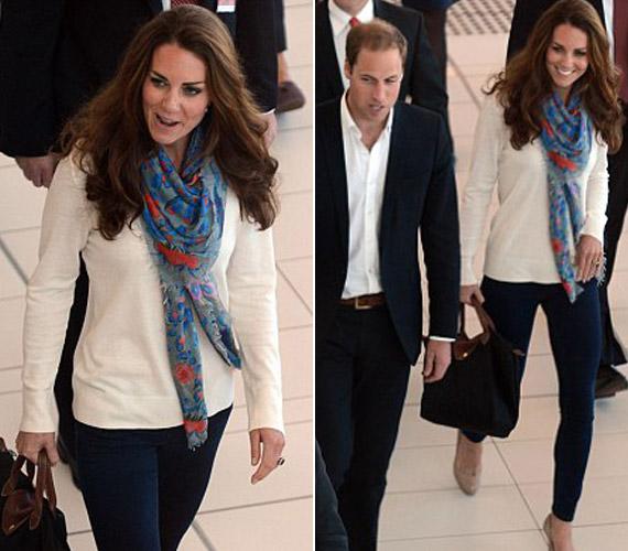 A fiaskó után a hercegné jobbnak látta nadrágba bújni.