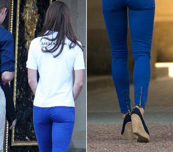 Kevés nőnek áll jól a testhezálló farmer, Kate Middleton közéjük tartozik.