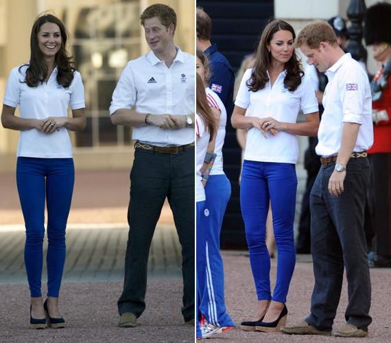 Harry herceg, mint mindig, most is szívesen szórakoztatta sógornőjét.