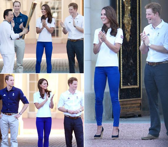 Ez volt az első olimpia, amin Kate Middleton a királyi család tagjaként, hercegné címmel vett részt.