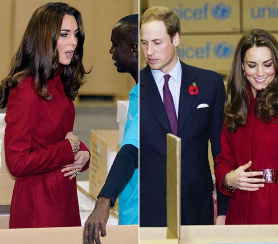 2011 decemberében kaptak szárnyra először a pletykák, miszerint a hercegné gyermeket vár. Ez akkor azonban még kacsa volt.