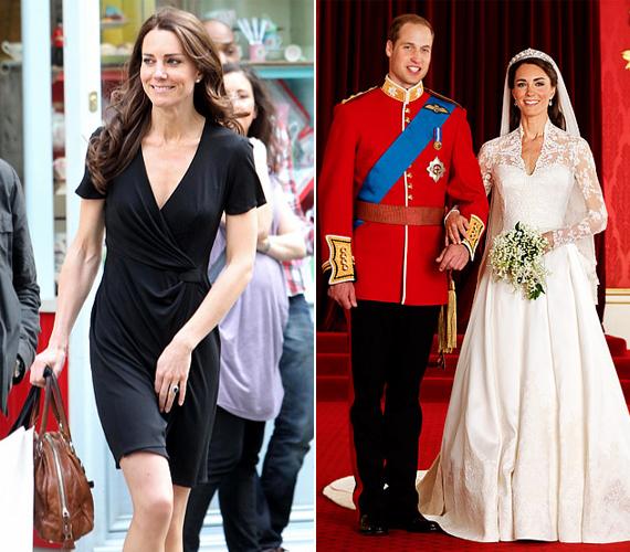 Az esküvője előtti napokban még felszabadultan vásárolgatott, 2011. április 29-én pedig elragadóan gyönyörű menyasszony vált belőle.