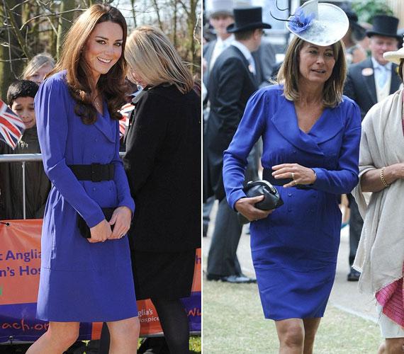 Édesanyja korábbi, királykék Reiss ruhája annyira megtetszett neki, hogy 2012 tavaszán ő maga is ilyet viselt.
