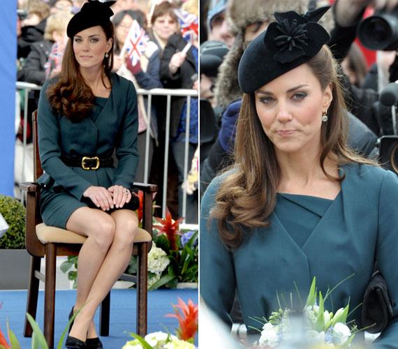 Márciusban II. Erzsébettel vett részt egy londoni ünnepségen, a királynő uralkodásának gyémántjubileuma alkalmából. Az alkalomra a szokottnál kissé rövidebb szoknyájú kosztümöt választott.