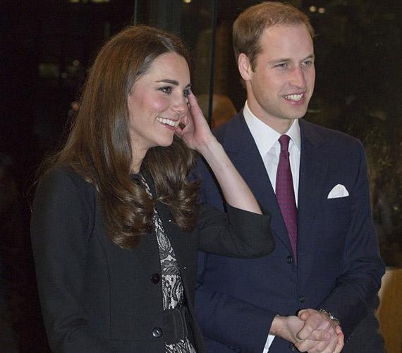 Vilmos herceg és felesége Gary Barlow december 6-ai koncertjére érkeztek.