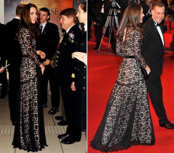 Katalin hercegnő ezúttal is mindenkit levett a lábáról.