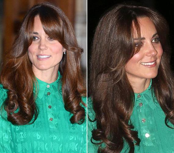 Katalin hercegné új frizuráját kedvenc fodrásza, Richard Ward, a londoni Sloane Square hajszobrásza készítette.