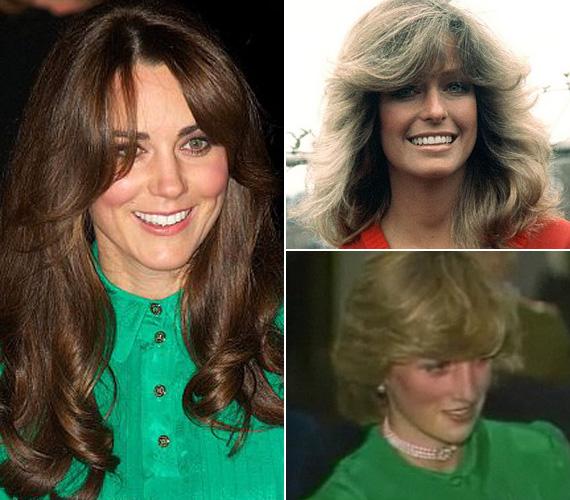 A hetvenes évekbeli frizura Farah Fawcett színésznőére emlékeztet, de Diana hercegnő is hasonló, frufruhangsúlyos hajviselettel él az emberek emlékezetében. Kate Middleton is efelé tendál a lépcsős vágással.