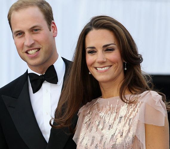 Mozgalmas a hercegi pár élete, a gála előtt két nappal még az Investec Derbyn vettek részt, II. Erzsébet társaságában.