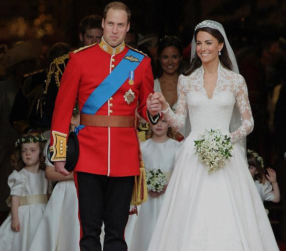 Vilmos herceg 2011. április 29-én vette feleségül Kate Middletont, akit azóta Katalin hercegnőként is ismer és csodál a világ.