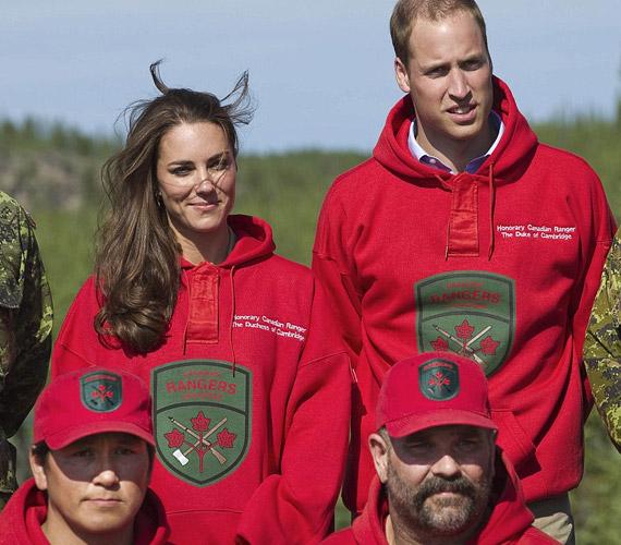 Júliusban a hercegi pár a Canadian Rangers tiszteletbeli tagja lett.