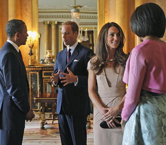 Katalin hercegnő 2011 májusában Barack Obama és felesége előtt is remekül vizsgázott.