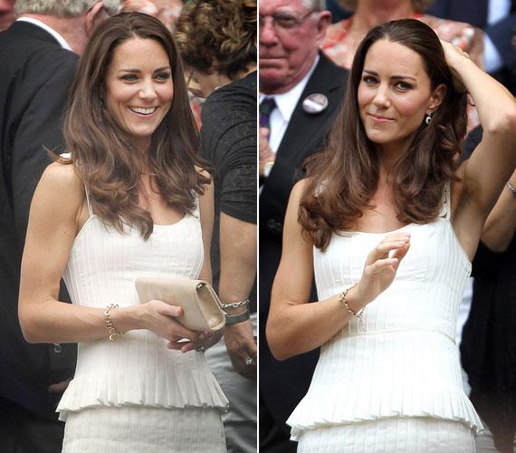 Kate Middletonnak aggodalomra semmi oka, hiszen ezúttal is magabiztos stílusérzékről tett tanúbizonyságot a ruháját illetően.