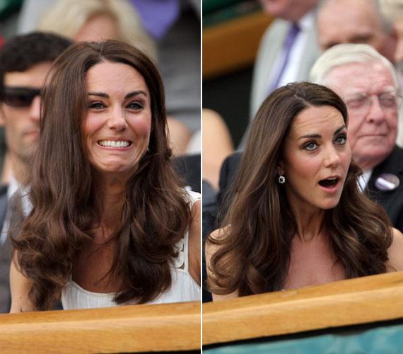A bajnokságon készült néhány kevésbé előnyös fotó is a hercegnőről, ám ezek miatt sem kell szégyenkeznie.