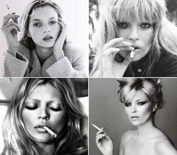 A modell nemcsak az alkohol rabja, már egész fiatal kora óta dohányzik. Soha nem érdekelte, hogy szenvedélyei idővel csorbát ejtenek majd gyönyörű külsején.