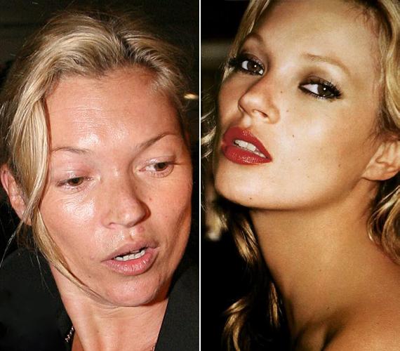 Mintha nem ugyanaz a nő lenne! Hatalmas különbség van a sminkelt és a természetes arca között.