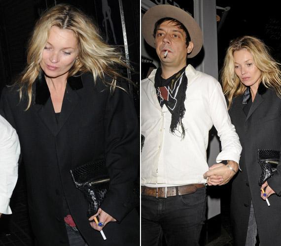 November 24-én hajnalban a züllött modell férjével, Jamie Hince-szel karöltve ittasan távozott egy londoni szórakozóhelyről.