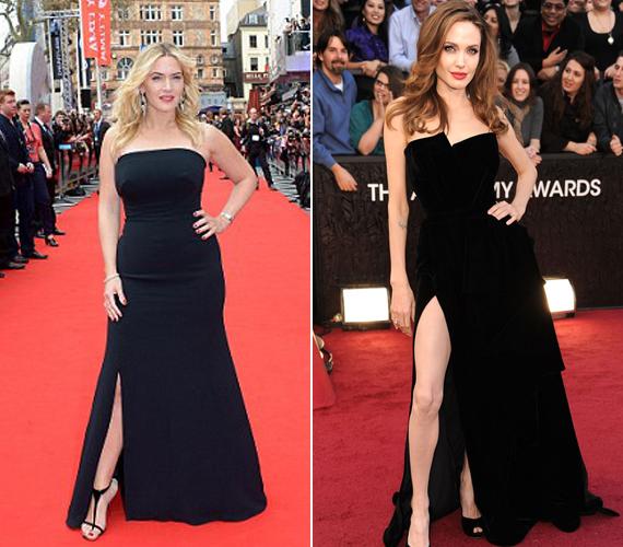 Angelina Jolie a 2012-es Oscar-gálára érkezett ilyen ruhában.
