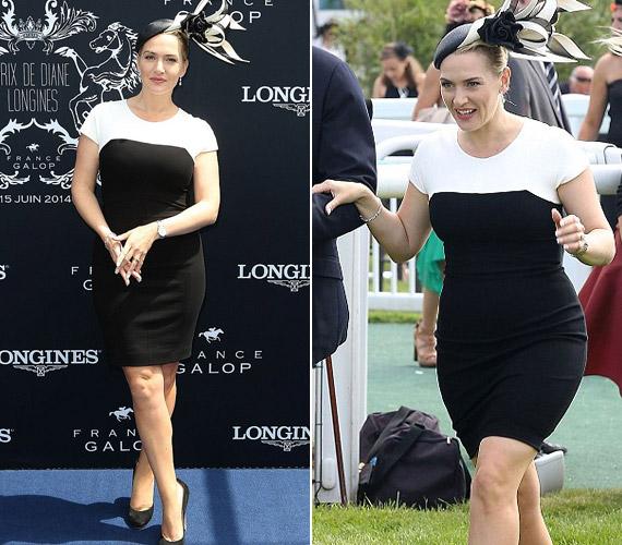 A színésznő csak fél éve adott életet gyermekének, de máris remek formában van.