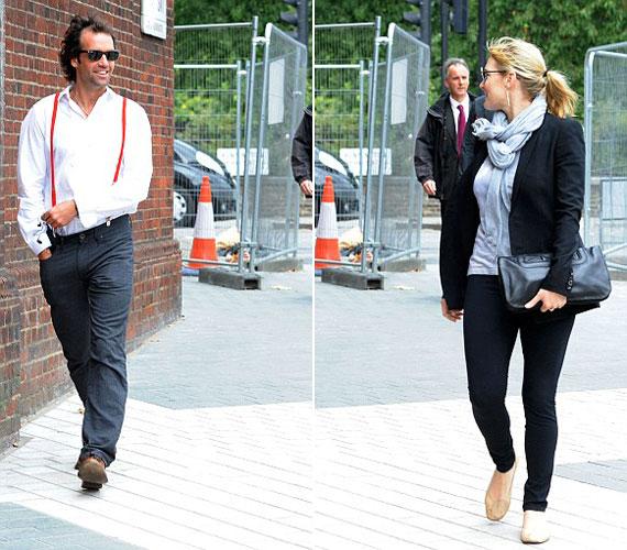 Kate Winslet és Ned Rocknroll együtt érkeztek néhány napja Richard Branson édesapjának temetésére.