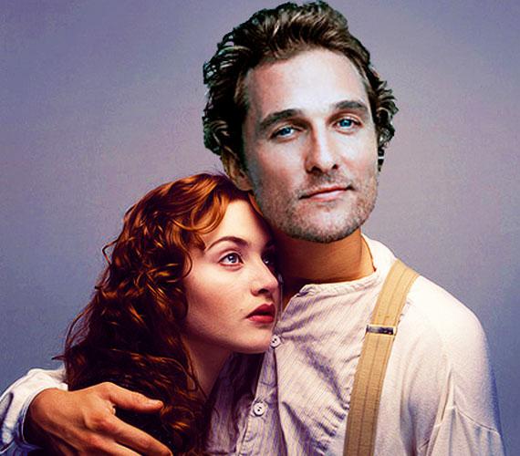 A stúdió eredetileg Matthew McConaughey-t szerette volna Jack szerepére, de a rendező, James Cameron ragaszkodott Leonardo DiCaprióhoz.