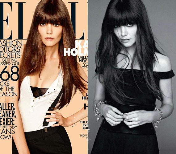 Az Elle Magazin augusztusi számának címoldalán is ő lesz látható.