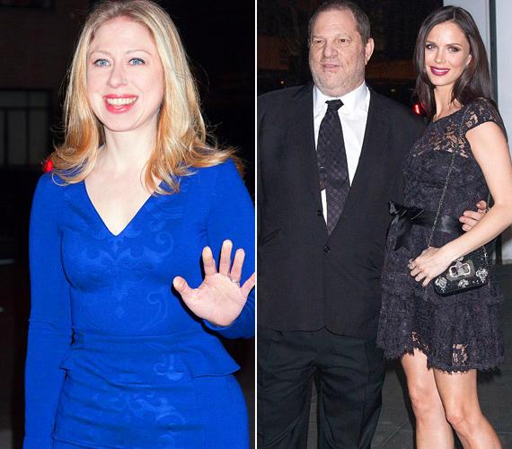 Az eseményen megjelent Chelsea Clinton, valamint a tervezőként dolgozó Georgina Chapman is férjével, a filmproducer Harvey Weinsteinnel.