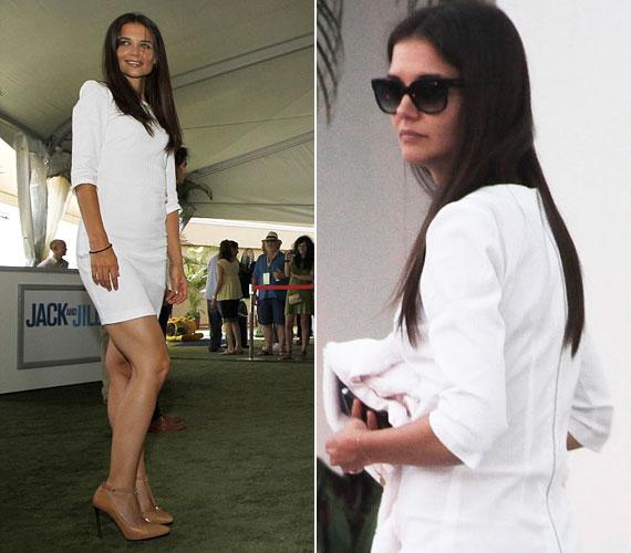 Katie stílusa és ízlése legtöbbször csapnivaló, pedig Holmes & Yang néven még saját ruhakollekciót is piacra dobott.