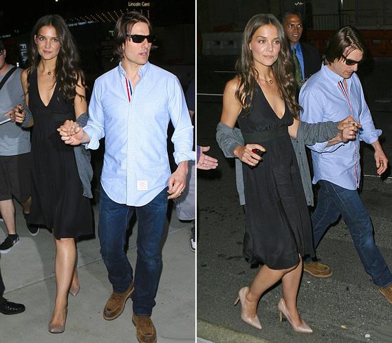 A pár ritkán romantikázik kettesben, hiszen a színésznő thrillerét, valamint Jack and Jill című komédiáját népszerűsíti, míg Tom a Rock of Agest forgatja.