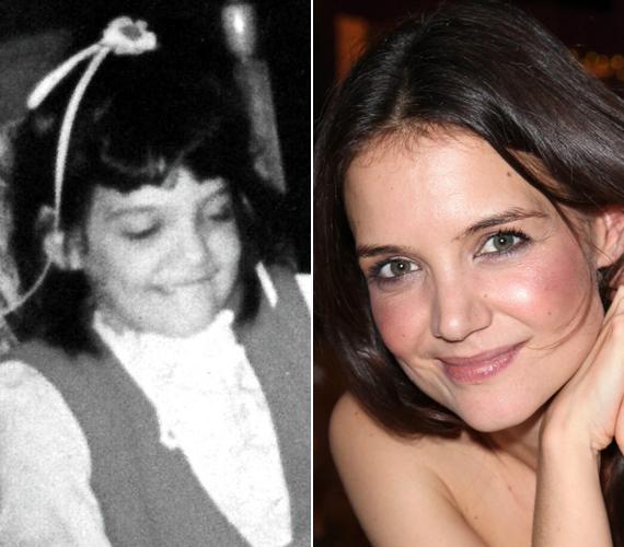 A most 32 éves színésznő vonásai nem sokat változtak az évek alatt, a képen hétéves.