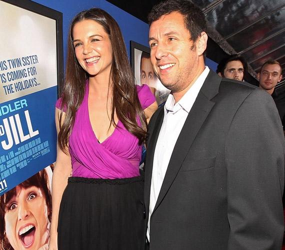 A Jack and Jill két főszereplője Katie Holmes és Adam Sandler.