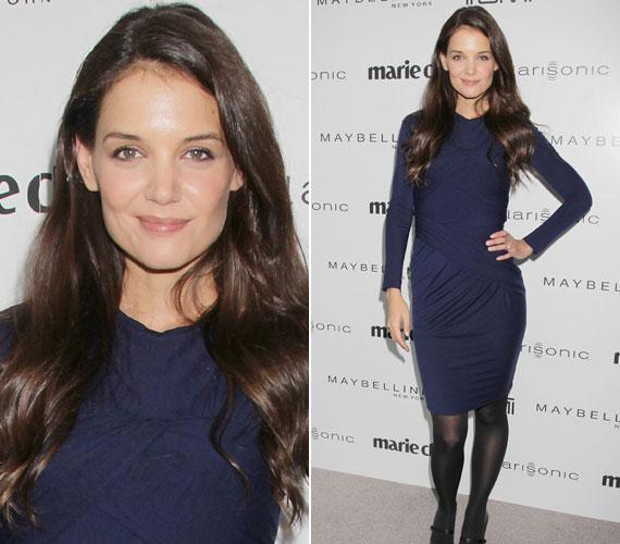 A színésznő csinos ruháját a Carven divatház kollekciójából választotta az alkalomra.