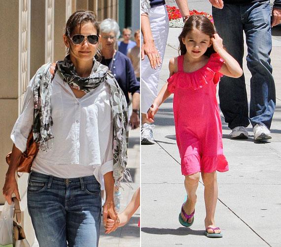 Az ötéves Suri divatérzékéről már most ódákat zengenek, tény, hogy a kislány már most nőiesebben öltözködik, mint sztáranyukája.
