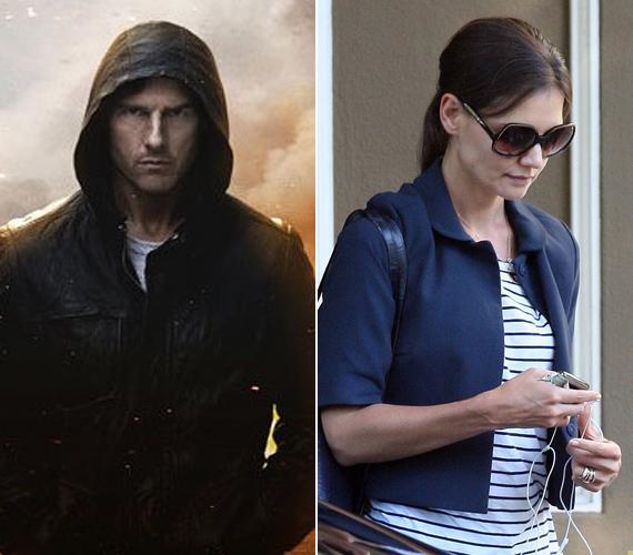 Tom Cruise új filmjének, a Mission Impossible 3-nak épp a napokban jelent meg a plakátja, szinte azzal egy időben, hogy Holmes thrillerje megbukott a mozikban.
