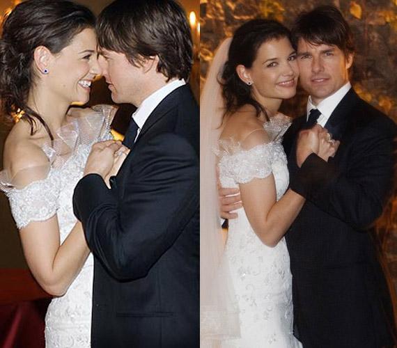 Miután megérkezett a lányuk, Katie Holmes és Tom Cruise összeházasodott.