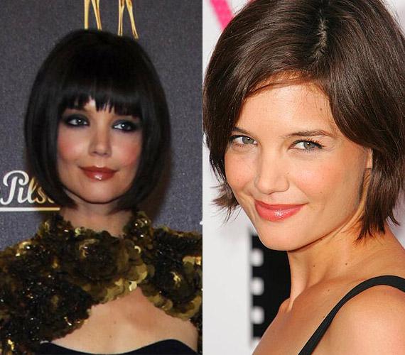 2007-ben merész lépésre szánta el magát: rövidre vágatta a haját.