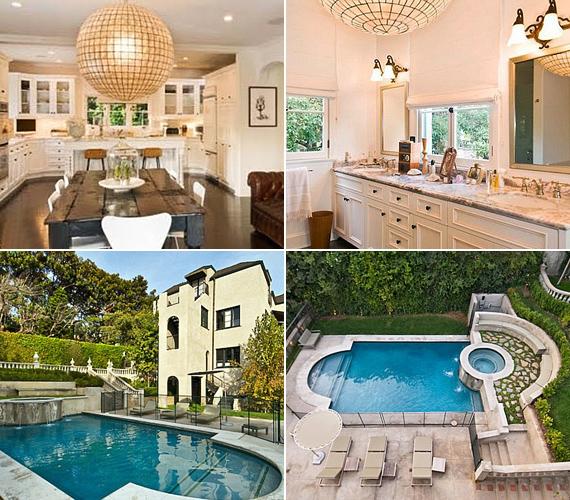 Az átalakítás utáni a szerelmi fészek valahogy így fog kinézni - ilyen világos, modern és elegáns volt ugyanis Katy régi, Los Feliz-i otthona.