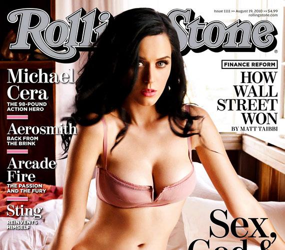 Most szerepelt másodjára a népszerű zenés magazin címlapján - először 2010 augusztusában találkozhattak vele a rajongók a Rolling Stone borítóján.