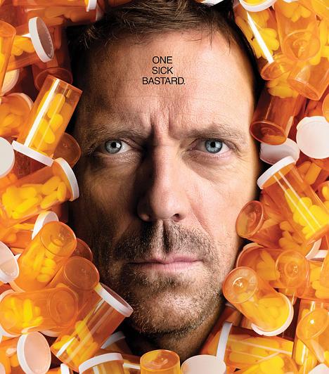 Dr. House (2004-2012)  Bár egy szériához általában pozitív karaktert választanak főszereplőnek, a kiállhatatlan House, Hugh Laurie megformálásában új irányba vitte a sorozatgyártást. A való életben ugyan az emberek kiborulnának egy hasonló orvostól, ám a képernyőn keresztül mindenki imádja.  Kapcsolódó cikk: Ahogy még biztos nem láttad! Doktor House megmutatta a meztelen valóságot »