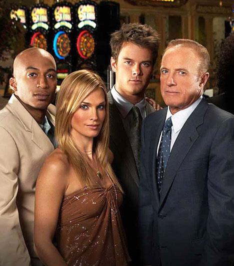 Las Vegas (2003-2008)  A Las Vegas egy amerikai játékfilmsorozat, ami egy fiktív Las Vegas-i kaszinó és szálloda, a Montecito alkalmazottainak munkáját követi nyomon. Az NBC tévécsatorna szériája 2003-ban debütált a képernyőn, olyan színészekkel, mint James Caan, Josh Duhamel és Molly Sims. A nálunk is nagy sikerrel vetített sorozat öt évadot, vagyis összesen 106 epizódot ért meg.