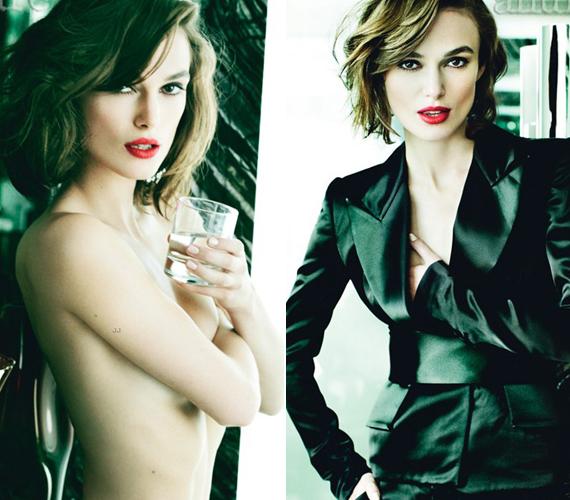A színésznőt már nem zavarja, hogy kicsik a mellei, azt nyilatkozta, egyre könnyebb elfogadnia, ahogy öregszik.