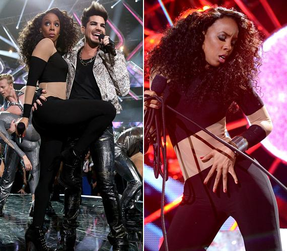 A VH1 gáláján igazán felforrósította a hangulatot, különösen akkor, amikor csatlakozott hozzá a színpadon Adam Lambert.