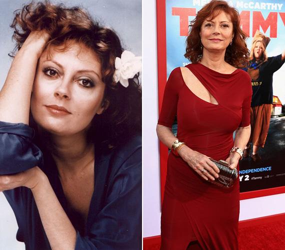 Susan Sarandon már 68 éves lesz, de a színésznő akár egy évtizedet is letagadhatna a korából, olyan jól néz ki. A sztár 2009-ben vált el Tim Robbinstól, azóta pedig egy nála 30 évvel fiatalabb férfi a párja.