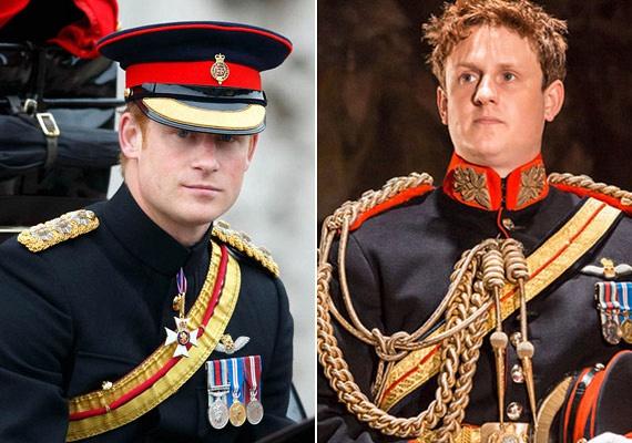 A Harry herceget alakító Richard Goulding a szereplőgárda leghíresebb tagja, korábban olyan filmekben játszott, mint a Mielőtt megismertelek vagy A Vaslady.