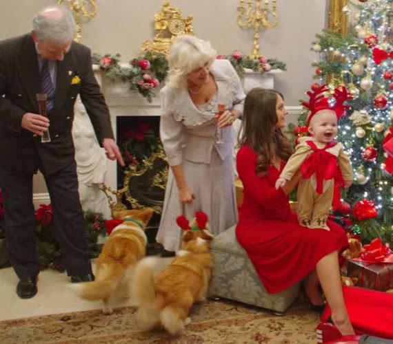 Az ünneplésről Charles és Camilla sem maradhat le.