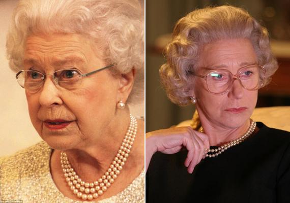 Nem véletlenül alakíthatta Helen Mirren Erzsébet királynőt a róla készült filmben. A színésznő kiköpött mása az uralkodónőnek.