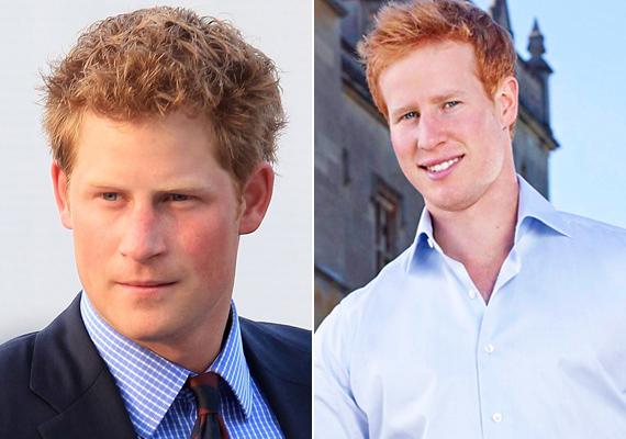 Harry herceg hasonmását nem volt nehéz megtalálni, az I Want to Marry Harry című párkereső műsor főszereplője volt Matthew Hicks, ahol a lányok a herceg alteregójának kegyeiért küzdhettek.