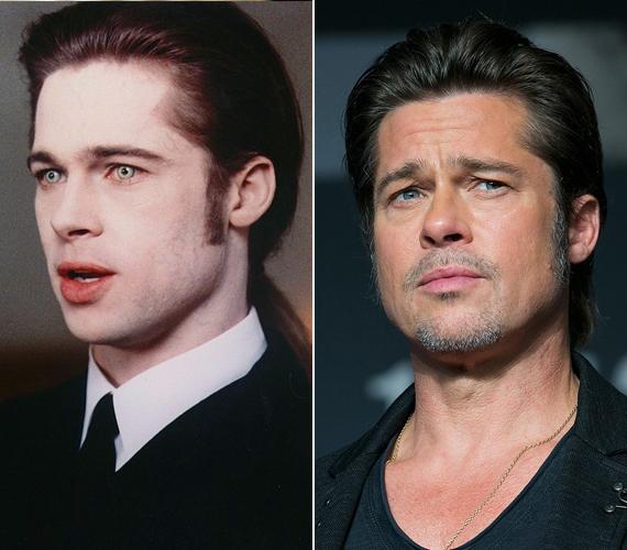 A most 51 éves Brad Pitt kereken 30 éves volt, amikor a sármos vámpírt, Louis de Pointe du Lac karakterét magára öltötte. Abban az időszakban tudatosan csak olyan szerepeket vállalt el, amelyek még vonzóbbá teszik a nők körében, mint például az 1997-es Hét év Tibetben című film főszerepe.