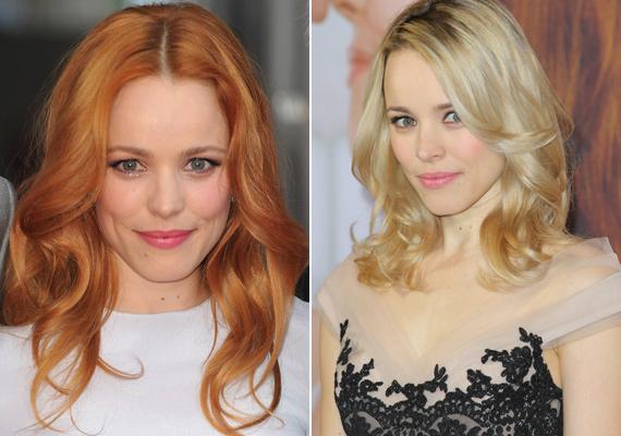 Habár vörös hajjal szoktuk meg a színésznőt, el kell ismernünk, hogy a szőke hajszín is remekül áll neki, kiemeli kislányos vonásait.