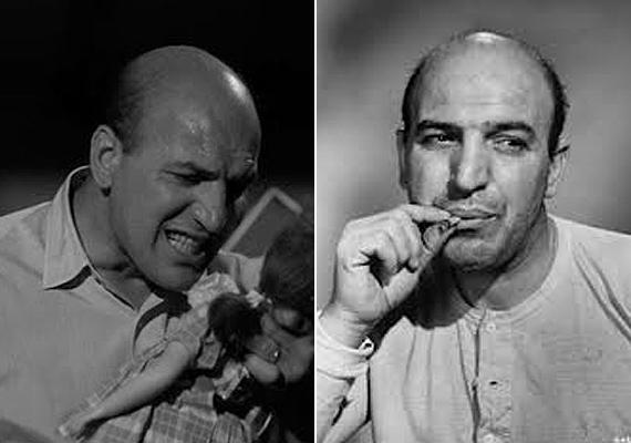 40 éves kora után már csak oldalt nőtt haj a fején. A színészt nem különösebben érdekelte a változás, sőt, később ez vált a legjellegzetesebb vonásává.